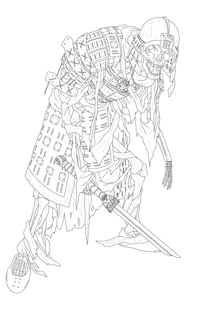 Skeleton Warrior by Peter Frain
